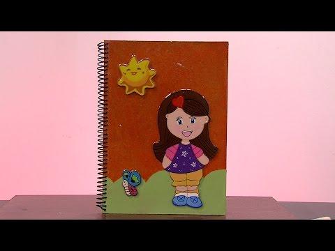 Como Hacer un Cuaderno Ecologico- HogarTv por Juan Gonzalo Angel