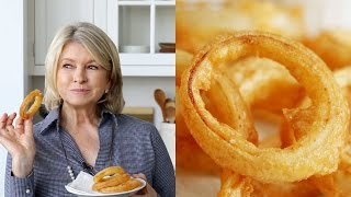 Beer-Battered Onion Rings by Martha Stewart #TastyStory by : Tasty