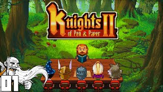 """LEVEL 99 PAPER KNIGHT!!!"" - Knights of Pen & Paper 2 Part 01 - 1080p HD PC Gameplay Walkthrough"