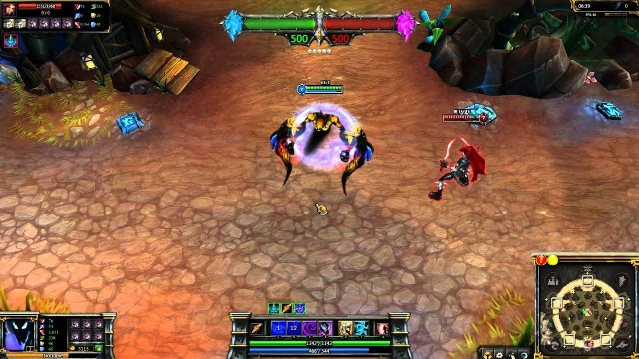 Ravager Nocturne League of Legends Skin Spotlight - YouTube