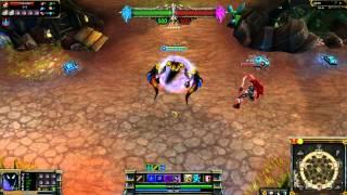 Ravager Nocturne League of Legends Skin Spotlight
