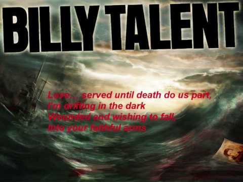 Billy Talent - The navy song lyrics