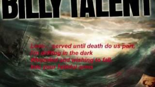 Billy Talent - The navy song lyrics