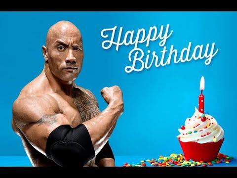the rock happy birthday Triple H Tweets 'Happy Birthday' to The Rock on his 43rd Birthday  the rock happy birthday