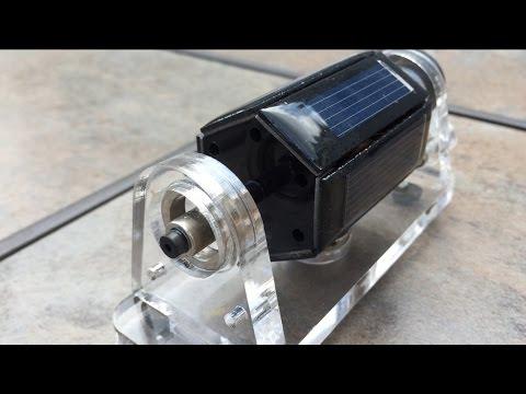Magnetic Levitating Solar Motor - Free Energy?