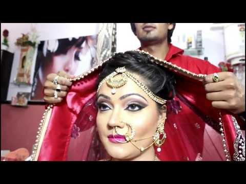 Bridal makeup with Hd Makeup Tutorial By sam Salmani Makeovers