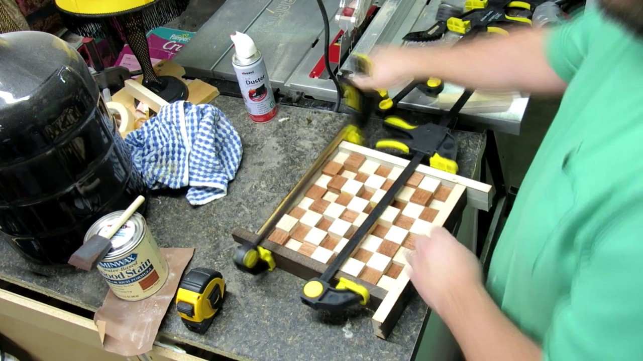 Making A 3d Chessboard