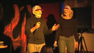Bingo Twins Visit Jackie Knight's Comedy Club