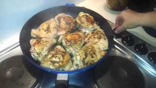 Pan Roasted Lemon Chicken (dr Poon / Paleo / Primal / Low Carb)