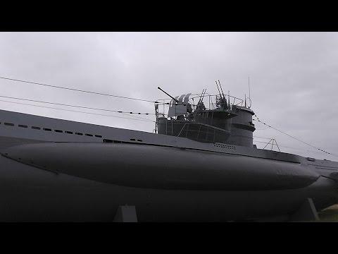 WW2 Relikte Teil 118 : Deutsches U-Boot der Kriegsmarine von innen