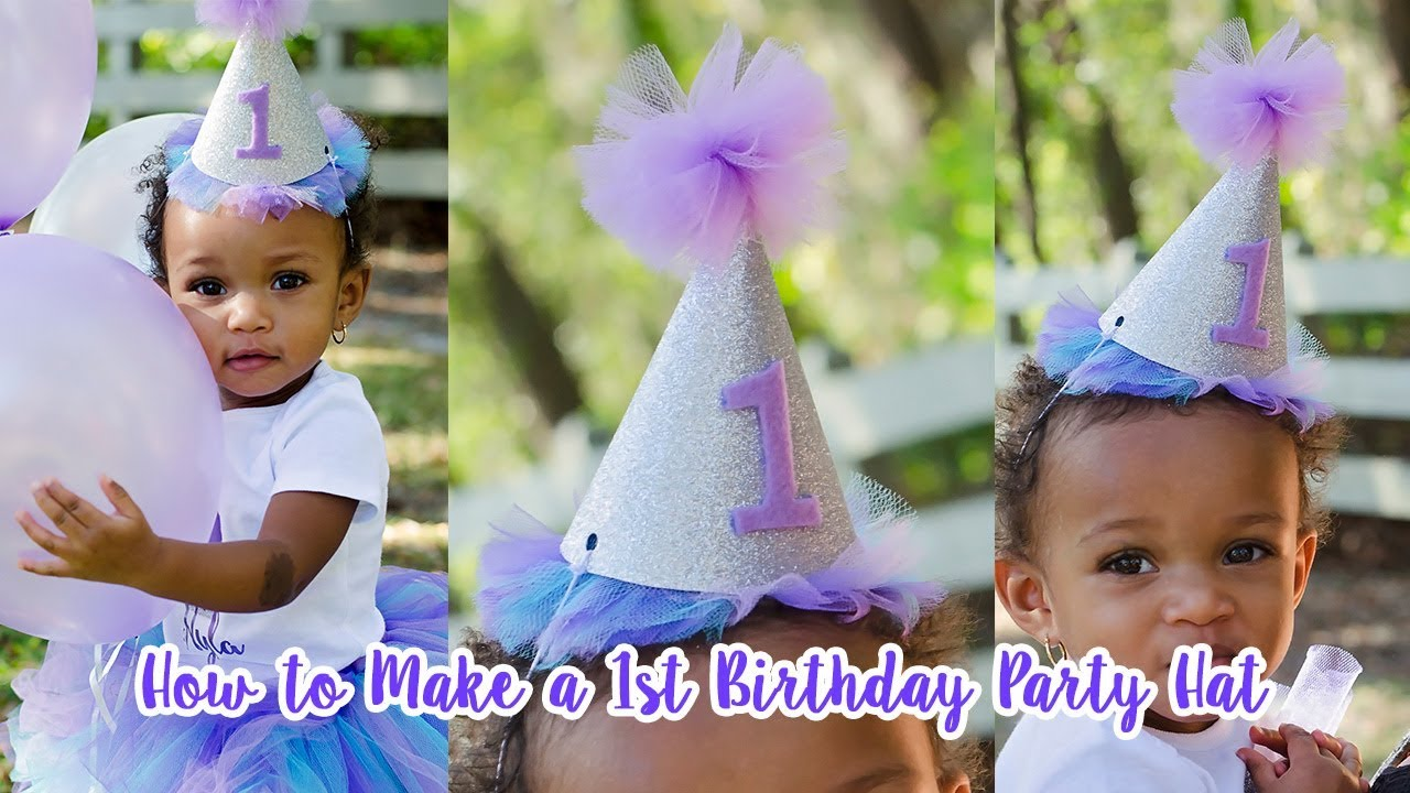 Diy Birthday Party Hat With Free Hat Template Simply Dovie Youtube