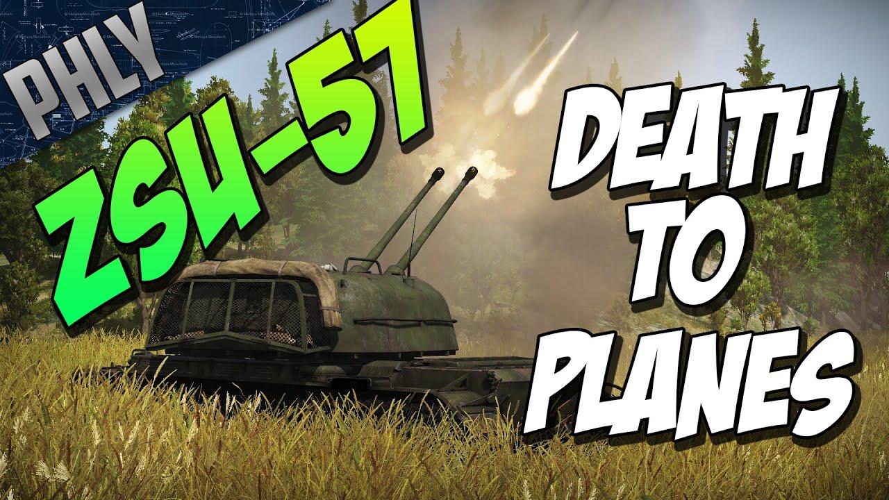War Thunder - ZSU-57 SKY ERADICATOR - War Thunder Tank Gameplay
