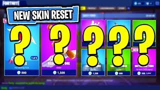 The NEW Daily Skin Items In Fortnite: Battle Royale! (Skin Reset #13)