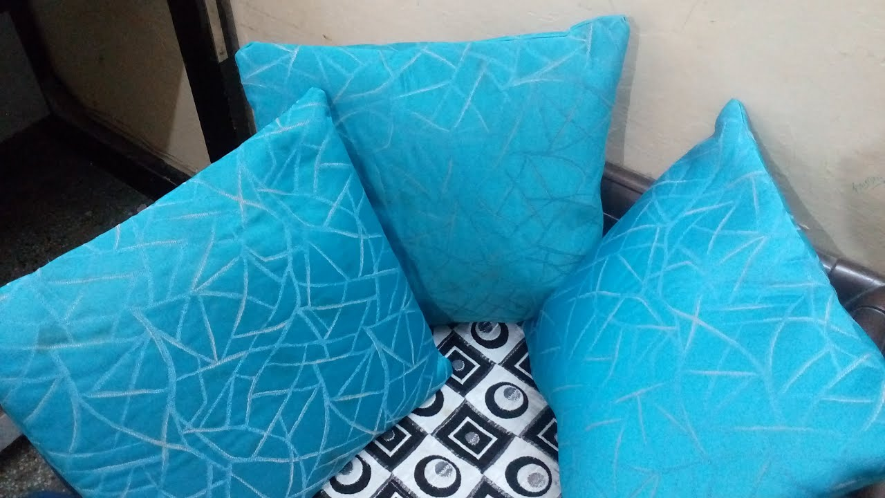How to make cushion cover Best out of Waste Easy DIY sewing