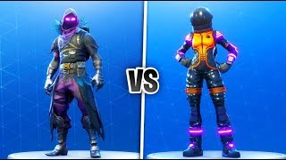 Dark Vanguard vs Raven Skin Showdown! Which Skin is better? (Best Fortnite Battle Royale Skins)