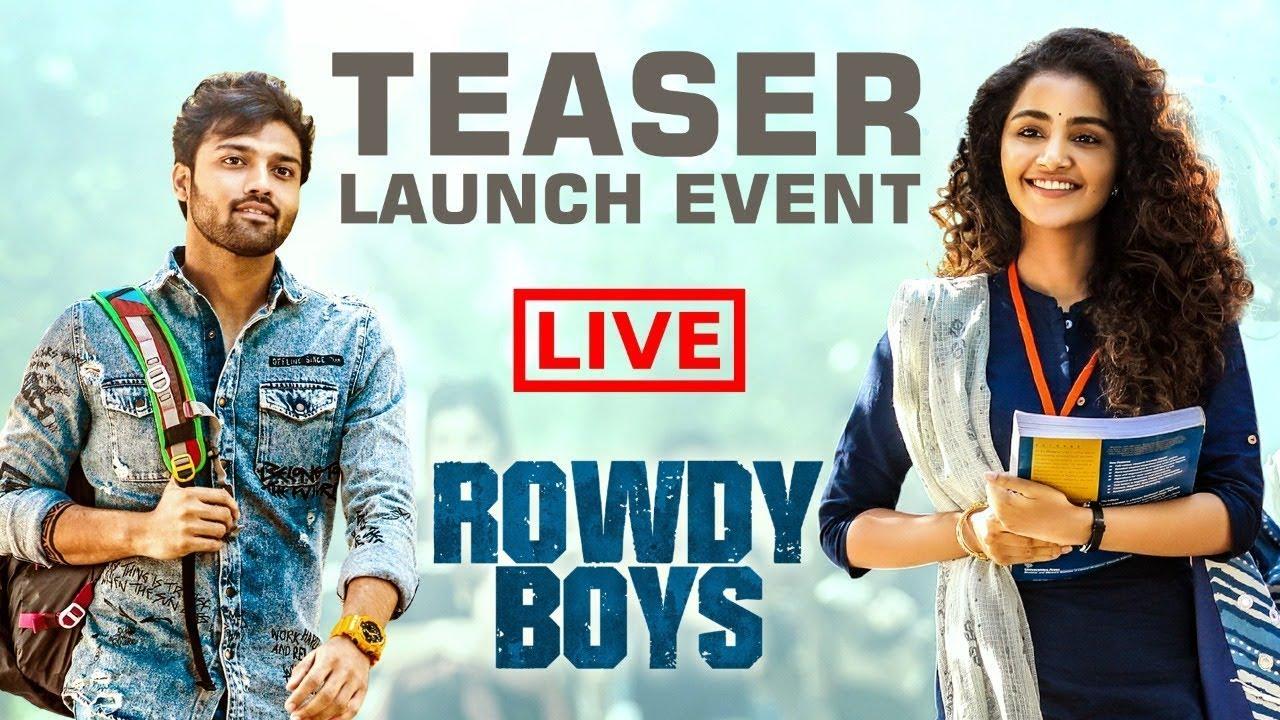Rowdy Boys Teaser Launch Event - Ashish, Anupama | Devi Sri Prasad | Harsha Konuganti | Dil Raju