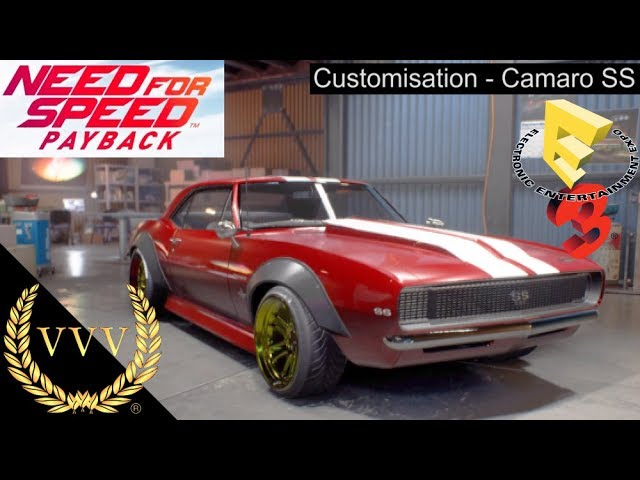 Need for Speed Payback - Camaro SS Customisation