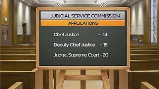 VIDEO: JSC to start short listing of CJ applicants on Monday