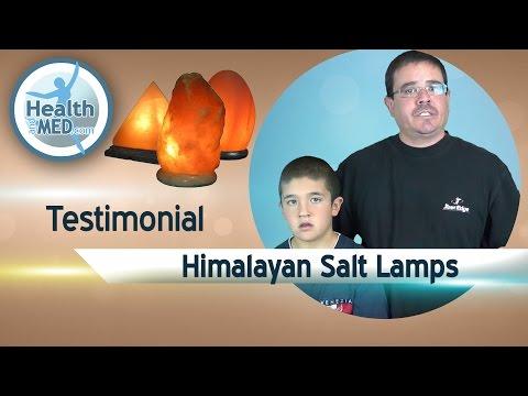 Himalayan Salt Lamp Testimonial for Allergies Asthma and Decoration