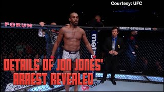 Details Of Jon Jones' DWI And Gun Charge Arrest Revealed
