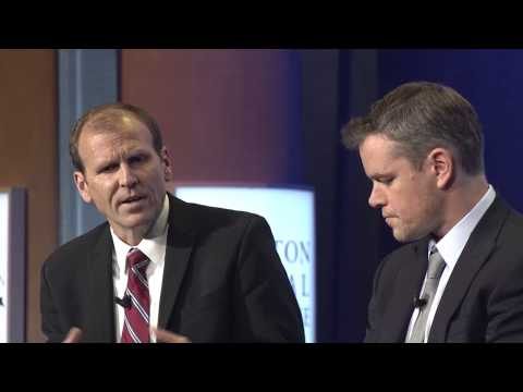 Cities as Labs of Innovation: Matt Damon and Gary White - CGI 2014 Annual Meeting