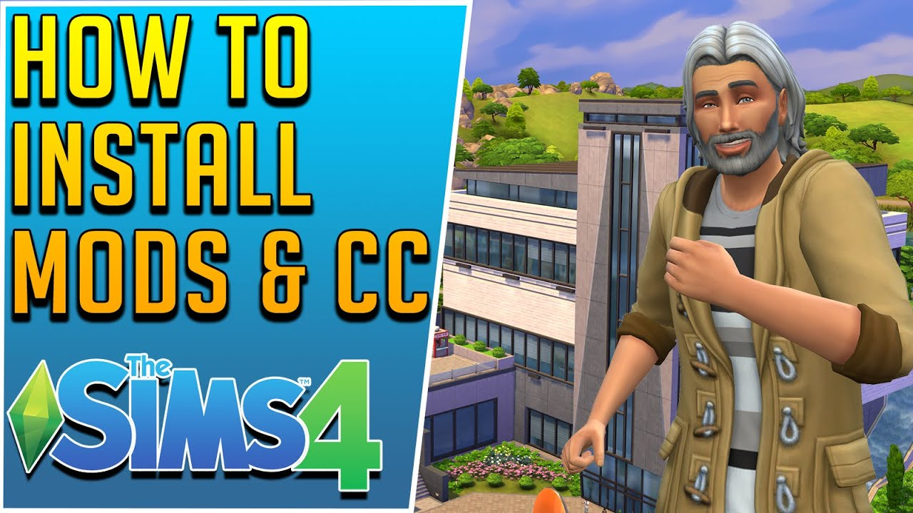 How to Install and Download Mods and CC for Sims 4