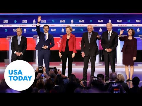 Democratic candidates debate before South Carolina and Super Tuesday   USA TODAY