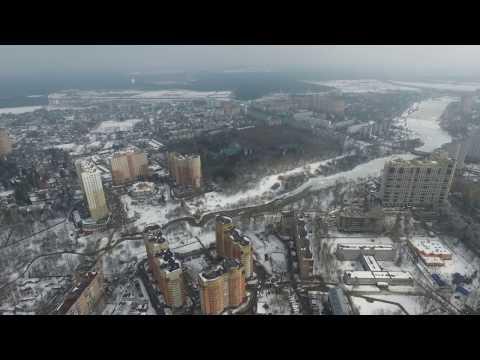 город,пушкино,московская область,центр,март 2016,год,кинотеатр,озеро,канал,строительство,вокзал,ххх,