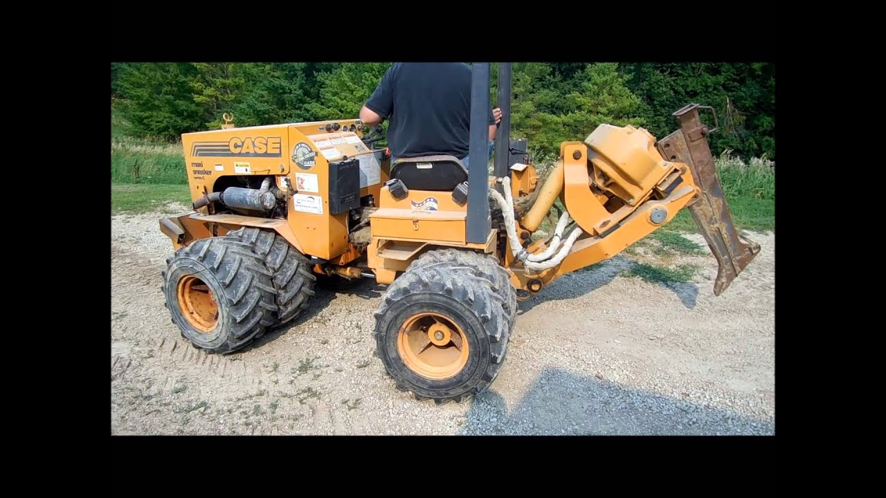 1997 Case Maxi-Sneaker C cable plow for sale | sold at auction September  19, 2013