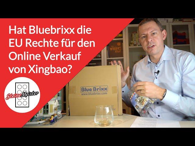 Hat Bluebrixx die Exclusivrechte an den Onlinevertrieb der Marke XingBao in der EU?