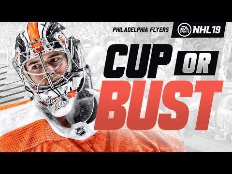 PHILADELPHIA FLYERS REBUILD! NHL 19 CUP OR BUST FRANCHISE