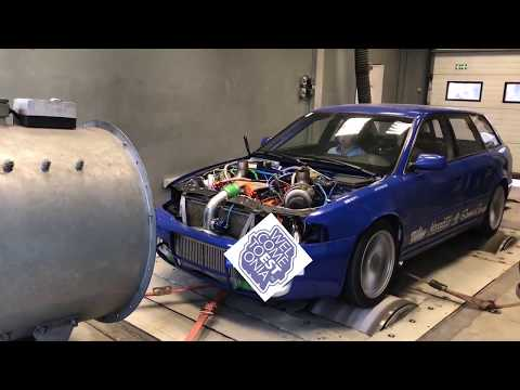 Audi S4 B5 (SPITFIRE) - 1500 hp on streets of ESTONIA