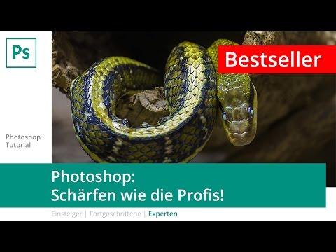Photoshop-Tutorial: Bilder schärfen wie die Profis!