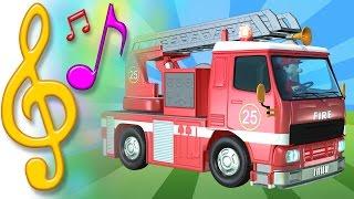 TuTiTuchansons en anglais et jouets   Camion de pompier   Apprendre l'anglais pour les enfants