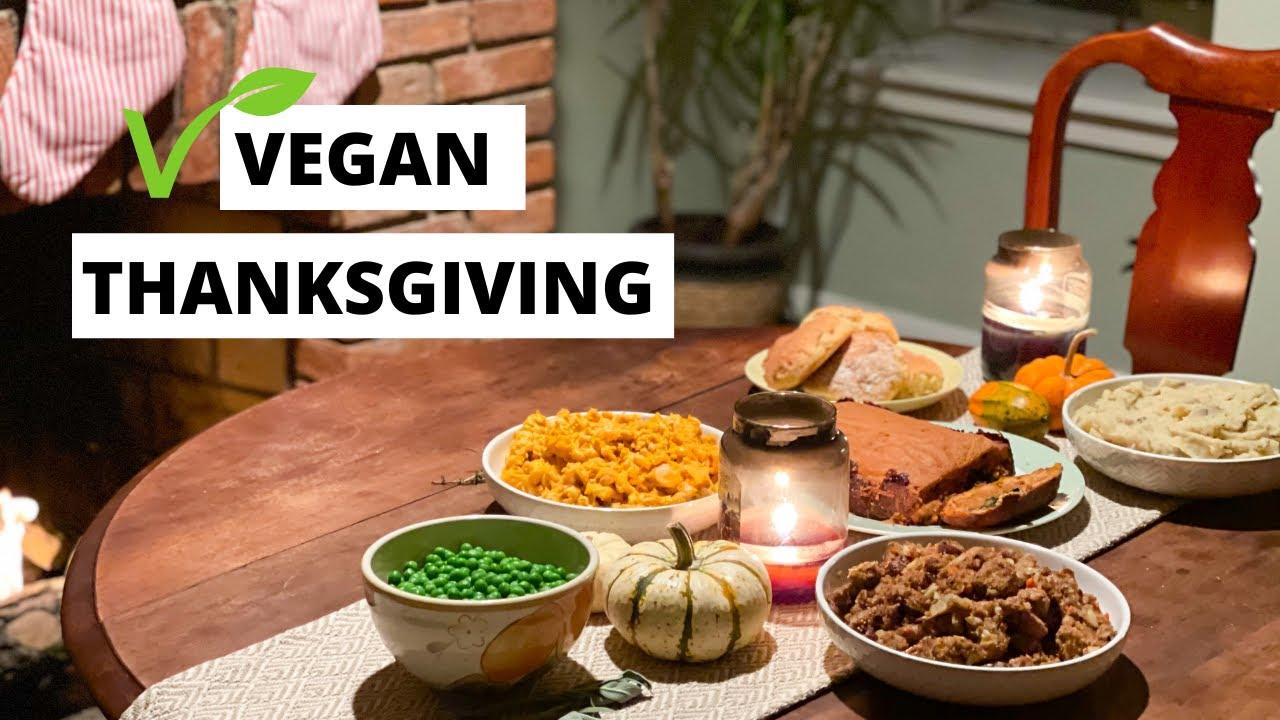Our Vegan Thanksgiving + Recipes!