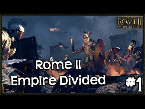 New Empire Divided Campaign DLC Gameplay - Total War: Rome 2 - Gothi #1