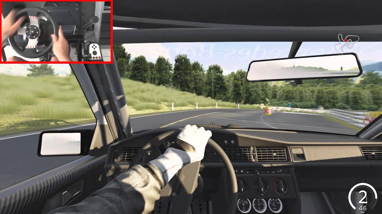 Assetto Corsa Drift Assetto Corsa Drift Mercedes 190 Evo Ii Drift Youtube