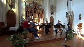 Georg Druschetzky: Oboe Quartet in G minor (1809) - dress rehearsal