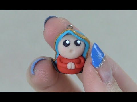 Our Lady of Guadalupe Chibi Charm Tutorial