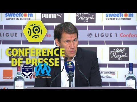 Conférence de presse Girondins de Bordeaux - Olympique de Marseille (1-1) / 2017-18