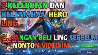 7 kelebihan dan kelemahan Hero ling