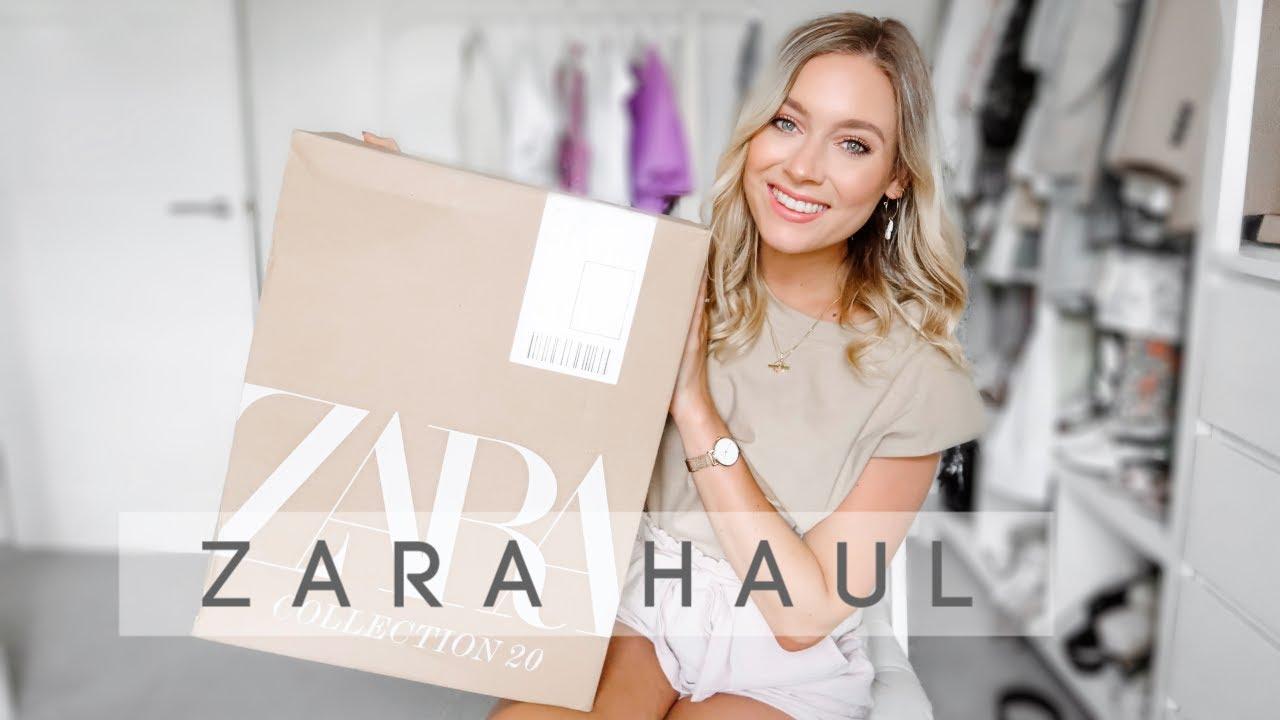ZARA TRY ON HAUL! | July 2020 new-in Zara haul! | Charlotte Beer