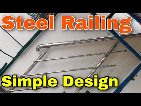 Stainless Steel Railing Design Steel Railing Design For Roof Granite And Marble Youtube