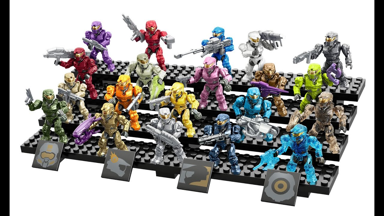 Halo Mega Bloks Spartan Tribute Pack Review