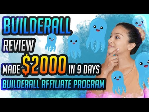 Builderall Review - Made $2000 in 9 Days With The Affiliate Program