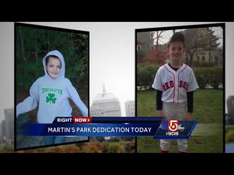 New waterfront park to honor Martin Richard