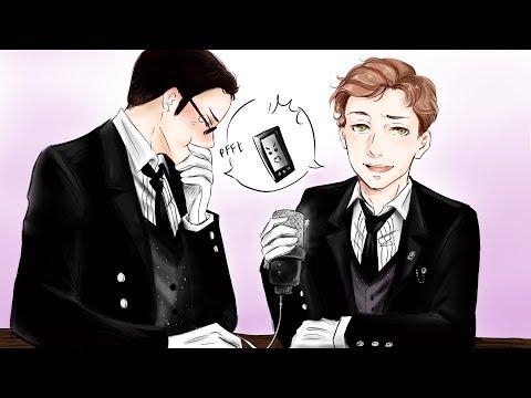 2 Voice Actors - 1 Voice Prank Calls (Sebastian's Black Butler)