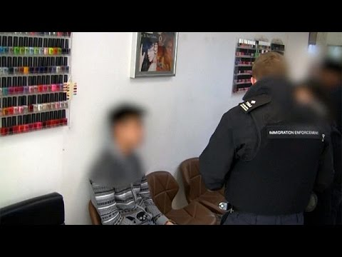 Nail salons targeted by immigration officers in the UK