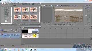 tutorial sony vegas - como colocar efeitos em vídeos