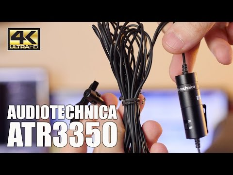 MIGLIOR MICROFONO PER INIZIARE - AUDIOTECHNICA ATR3350 - 4K UHD ITA